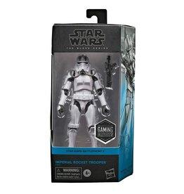Hasbro Star Wars Black Series Gaming Greats Imperial Rocket Trooper Exclusive 6 inch Action Figure
