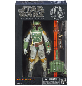 "Hasbro Star Wars The Black Series 6"" Figure Boba Fett (Orange Line)"