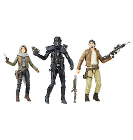 """Hasbro Star Wars: The Black Series 6"""" Rogue One Three-Pack Exclusive"""