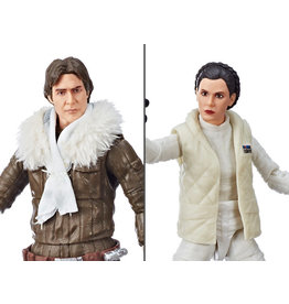 Hasbro Star Wars: The Black Series Han Solo & Leia Organa (Empire Strikes Back) Exclusive Two-Pack