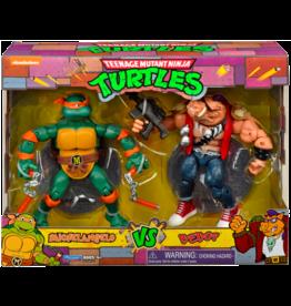 Playmates TMNT Michelangelo VS Bebop
