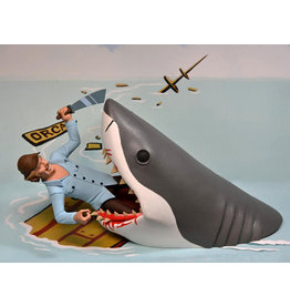 NECA Jaws Toony Terrors Jaws & Quint Two-Pack