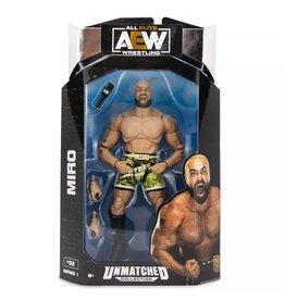 jazwares All Elite Wrestling  Figure (Unmatched Figure) Series 1 - Miro