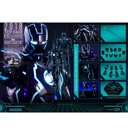 Sideshow Neon Tech Iron Man Mark IV Sixth Scale Figure by Hot Toys