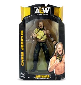 jazwares AEW Unrivaled Collection Series 6 Chris Jericho