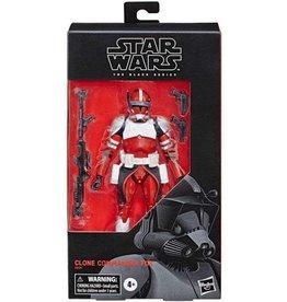 Hasbro Star Wars The Black Series:  The Clone Wars Clone Commander Fox Figure