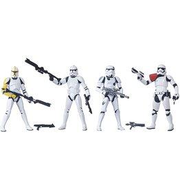Hasbro Star Wars: The Black Series Trooper 4-pack (Amazon Exclusive)