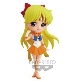 Banpresto Pretty Guardian Sailor Moon Eternal the Movie Super Sailor Venus Ver. A Q Posket Statue