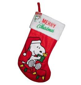 Kurt S. Adler Peanuts Snoopy 19-Inch Applique Stocking