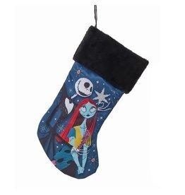 Kurt S. Adler Nightmare Before Christmas Jack and Sally 19-Inch Stocking