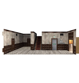 Extreme-Sets Hallway 1/12 Scale Pop-Up Diorama