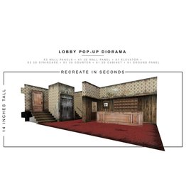 Extreme-Sets Lobby 1/12 Scale Pop-Up Diorama