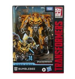 Hasbro Transformers Studio Series 74 Deluxe Bumblebee with Sam