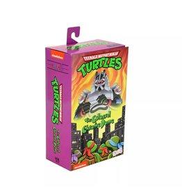 "NECA Teenage Mutant Ninja Turtles (Cartoon) - 7"" Scale Action Figure - Ultimate Chrome Dome"