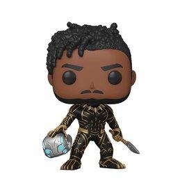 Funko Pop! Marvel: What If...? - King Killmonger Exclusive