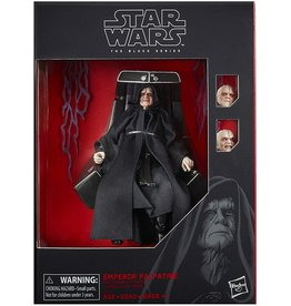 """Hasbro Star Wars: The Black Series 6"""" Emperor Palpatine Action Figure with Throne Return of The Jedi"""