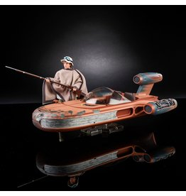 Hasbro Star Wars: The Black Series Luke Skywalker and X-34 Landspeeder