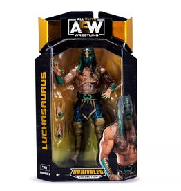 jazwares AEW Unrivaled Collection Series 5 Luchasaurus