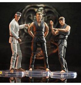 Diamond Select Toys Cobra Kai Select Series 1 Set of 3 Figures SDCC 2021