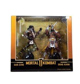 McFarlane Toys Mortal Kombat Sub-Zero vs. Shao Kahn 2 Pack - Walmart Exclusive 7 inch Action Figures