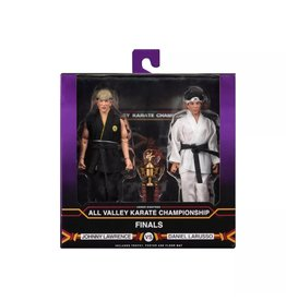 """NECA Karate Kid (1984) - 8"""" Clothed Action Figures- Tournament 2 Pack"""