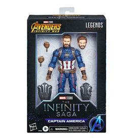 Hasbro Marvel Legends Infinity Saga - Avengers: Infinity War Captain America (Exclusive) Action Figure