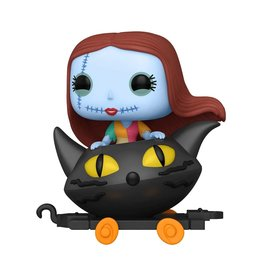Funko Nightmare Before Christmas Sally in Cat Cart Pop! Train