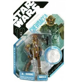Hasbro Star Wars Expanded Universe 2007 30th Anniversary Chewbacca Action Figure #21 [McQuarrie Concept]