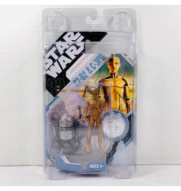 Hasbro Star Wars Expanded Universe 2007 30th Anniversary R2-D2 and  C-3PO Action Figure [McQuarrie Concept]