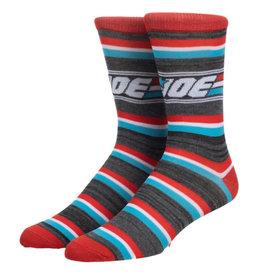 Bioworld G.I. Joe Striped Crew Socks