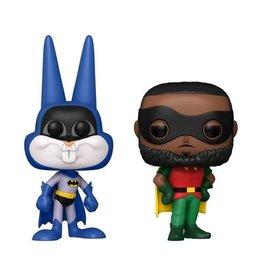 Funko Funko POP! Movies 2pk: Space Jam 2 - Bugs Bunny as Batman & LeBron James as Robin Exclusive