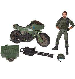 "Hasbro G.I. Joe Classified Series Alvin ""Breaker"" Kibbey with RAM Cycle"