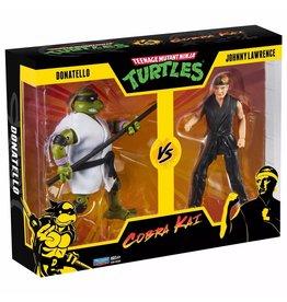 Playmates Teenage Mutant Ninja Turtles vs Cobra Kai 2pk - Donatello/Johnny Lawrence