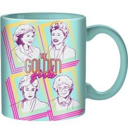 Silver Buffalo Golden Girls Retro Squares 20 oz. Ceramic Mug