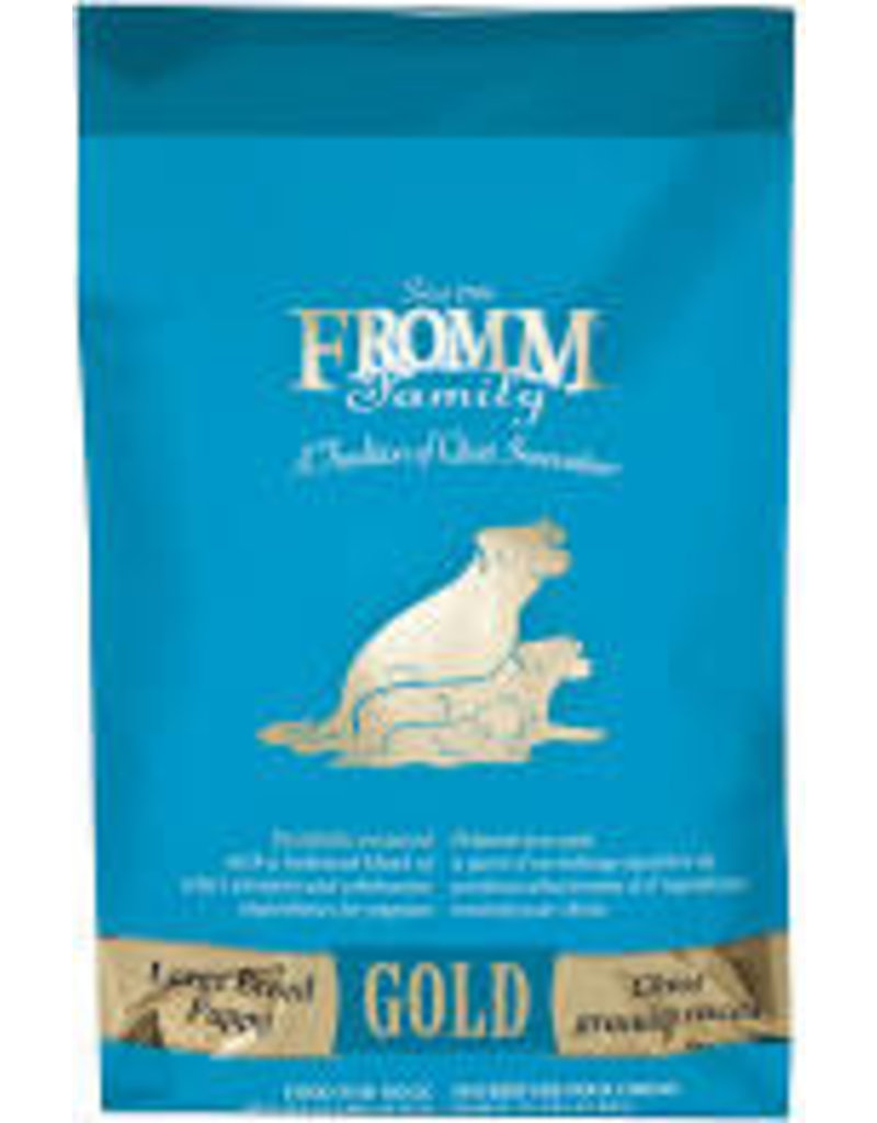 FROMM FAMILY FOODS LLC Fromm 5 Lb Dog Gold lg Breed Puppy EA