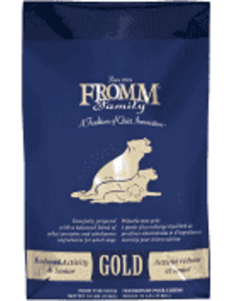 FROMM FAMILY FOODS LLC Fromm 5 Lb Dog Gold sr red Activity EA