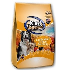 Nutrisource tTUFP NTRSRC LMB/RC DOG 30#