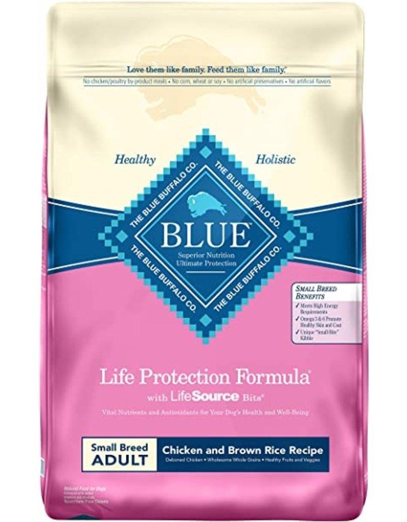 BLUE BUFFALO COMPANY BB 6lbs. SM. Breed Adult Chk/B.Rice