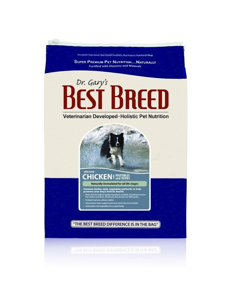 BEST BREED, INC. Best Breed 4 Lb Dog Chicken Veg and Herbs Holistic EA