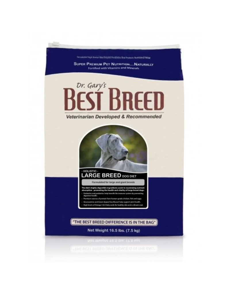 BEST BREED, INC. Best Breed 15 Lb Dog lg Breed Diet Holistic EA