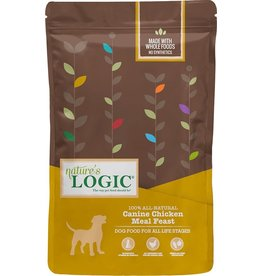 Nature's Logic NL 4.4 Lb Dog Dry Chicken Meal Feast EA