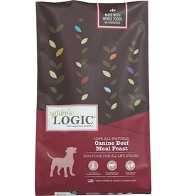 Nature's Logic NL 25 Lb Dog Dry Beef Meal Feast EA