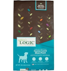 Nature's Logic NL 26.4 Lb Dog Dry Lamb Meal Feast EA