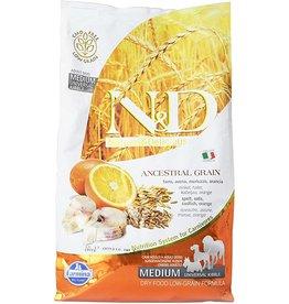 Farmina Farmina 5.5 Lb Adult Dog Dry Codfish med Low Grain EA