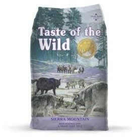 Taste of The Wild TOW 5 Lb Dog Sierra Mountain EA