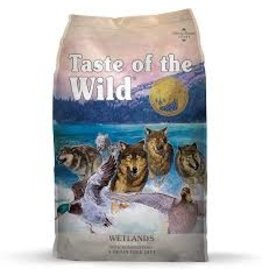 Taste of The Wild TOW WETLANDS 5# DOG FOOD GRAIN FREE
