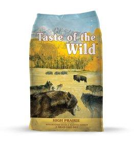 Taste of The Wild TOW 5 Lb Dog High Prairie EA