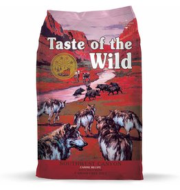 Taste of The Wild TOW 28 Lb Dog Southwest Canyon EA