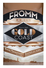 FROMM FAMILY FOODS LLC Fromm 4 Lb Dog Weight mgmt Gold Coast GF EA