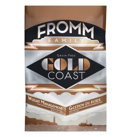 FROMM FAMILY FOODS LLC Fromm 12 Lb Dog Weight mgmt Gold Coast GF EA